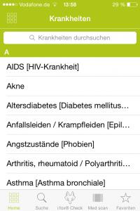 Arznei Aktuell Krankheiten