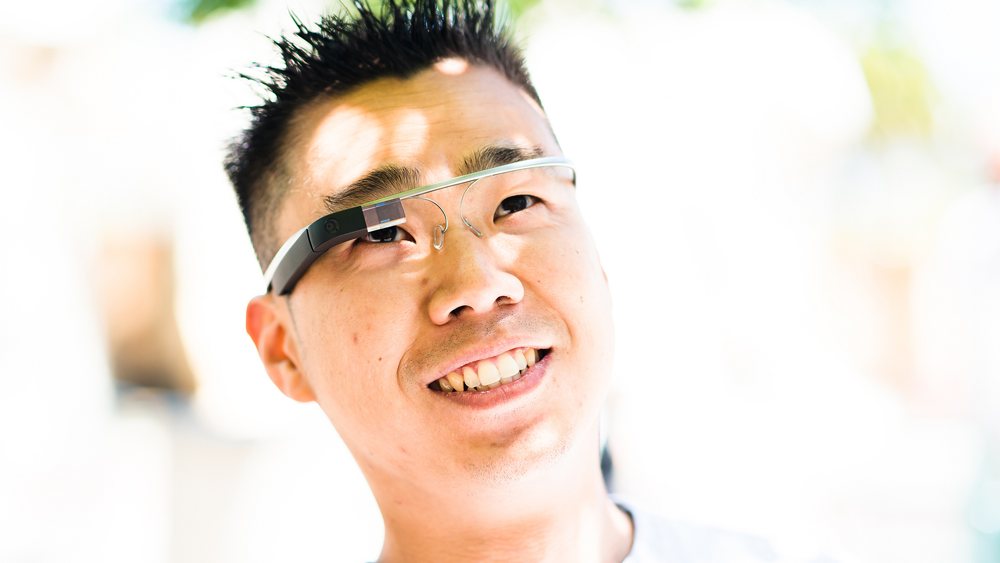 Assistenzarzt mit Google Glass