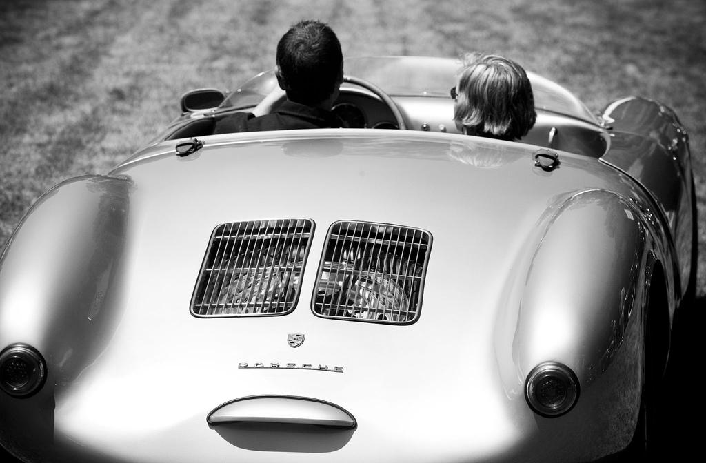 Arzt als Porschefahrer