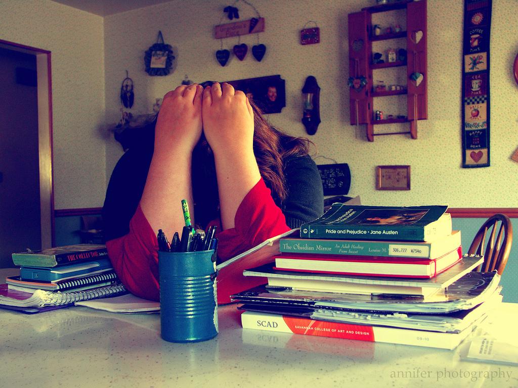 Stress in der Prüfungsvorbereitung