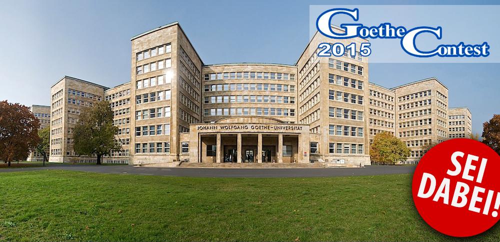 Goethe ContestSponsoring