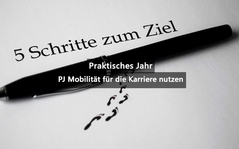 PJ Praktisches Jahr Mobilitaet Für Karriere Nutzen