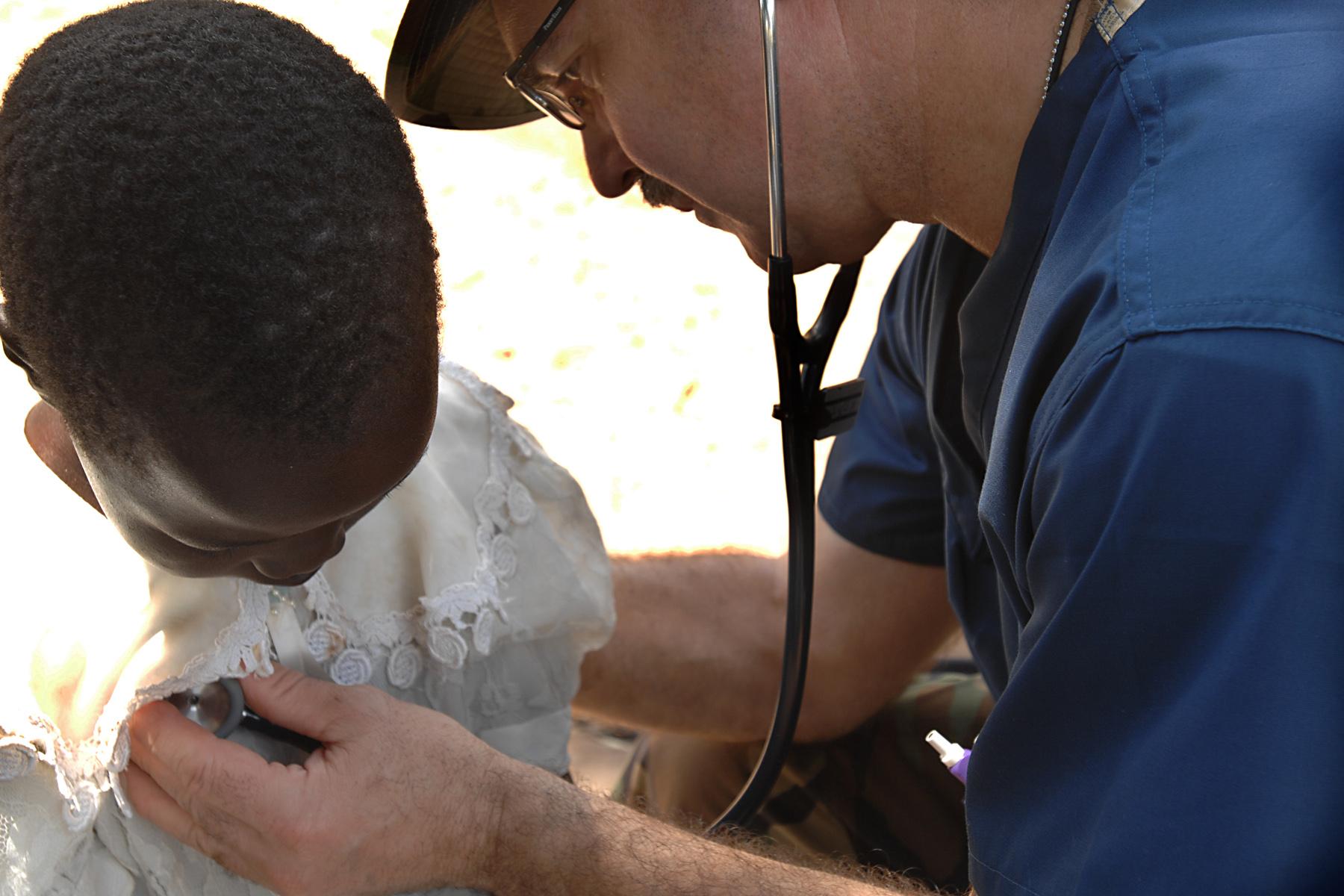 Mediziner helfen Asylsuchenden