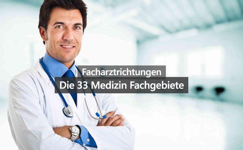 Facharztrichtungen Medizin Fachrichtungen