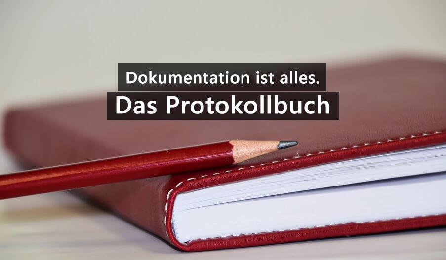 Doktorarbeit Protokollbuch Laborjournal