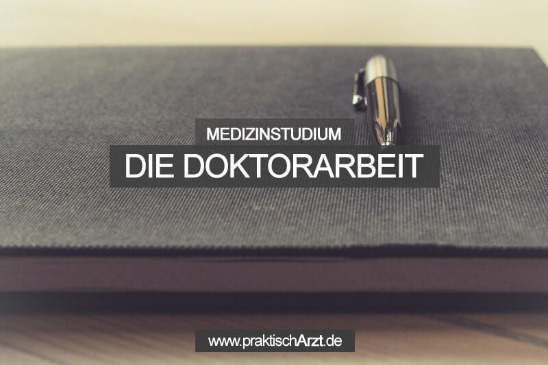 Doktorarbeit Medizin