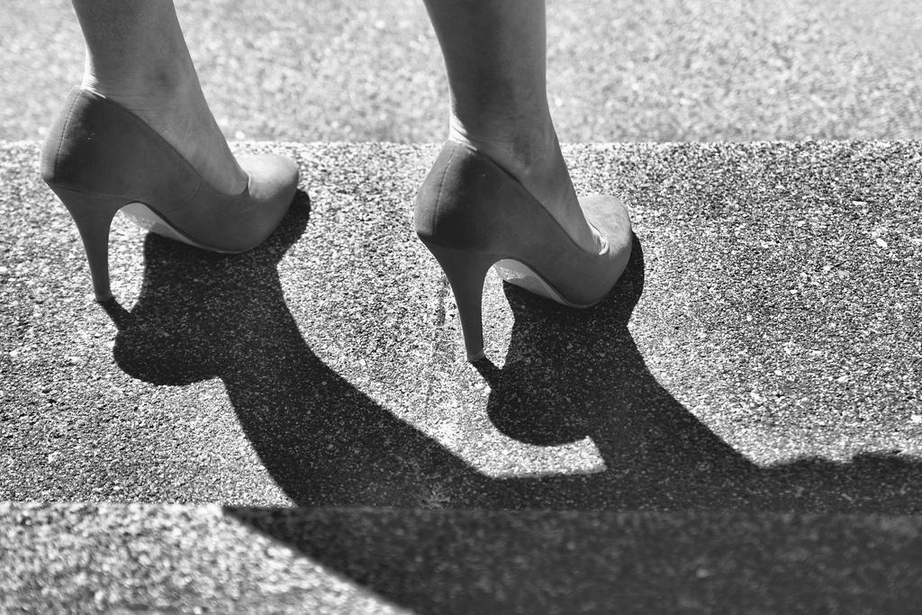 Die Gefahren von High Heels