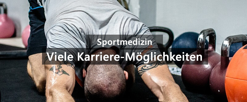 Sportmedizin Studium Job