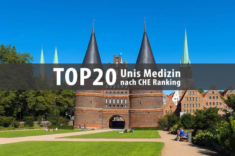 Beste Uni für Medizin nach Che Ranking