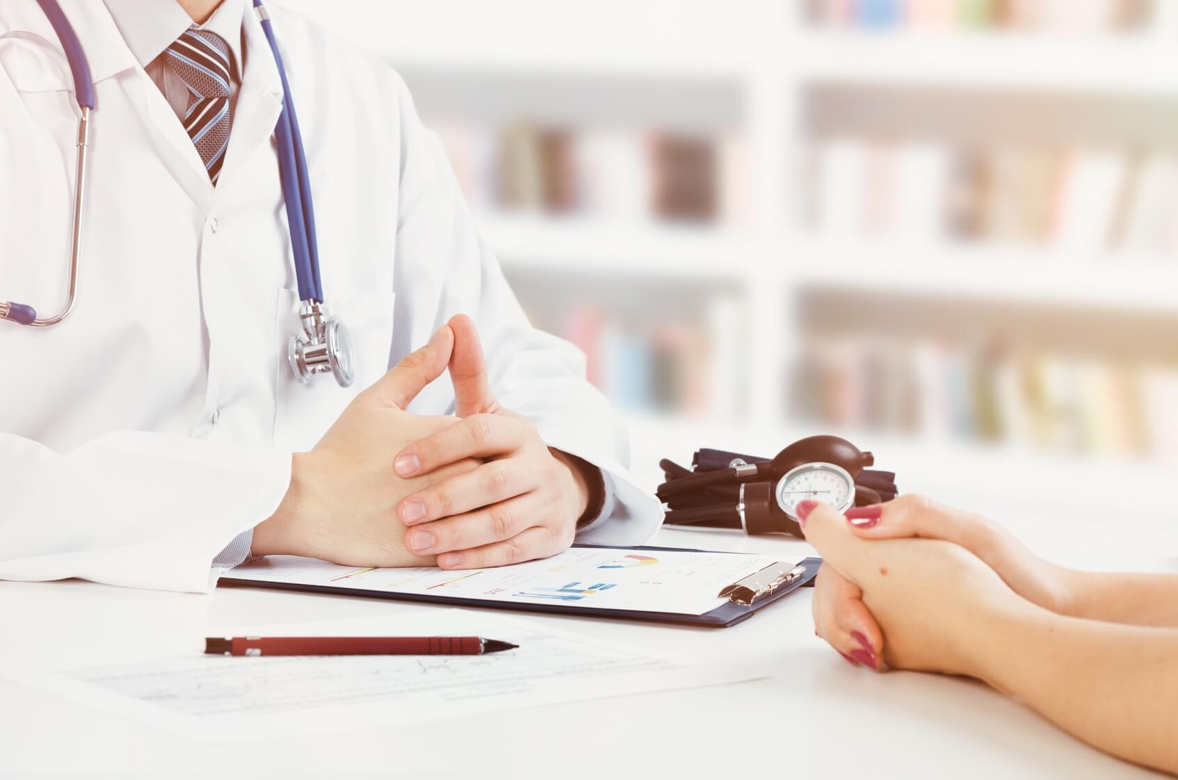 Mit Patienten Reden