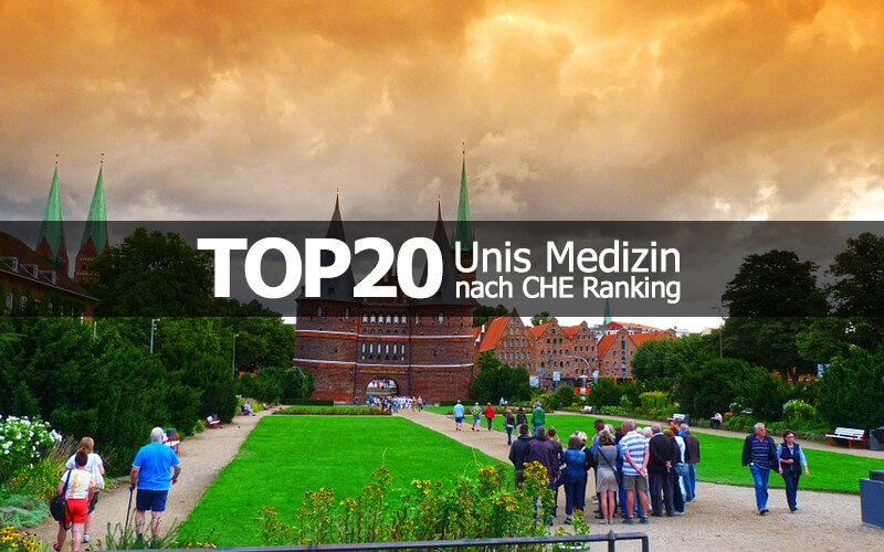 Top 20 Unis Medizin CHE Ranking