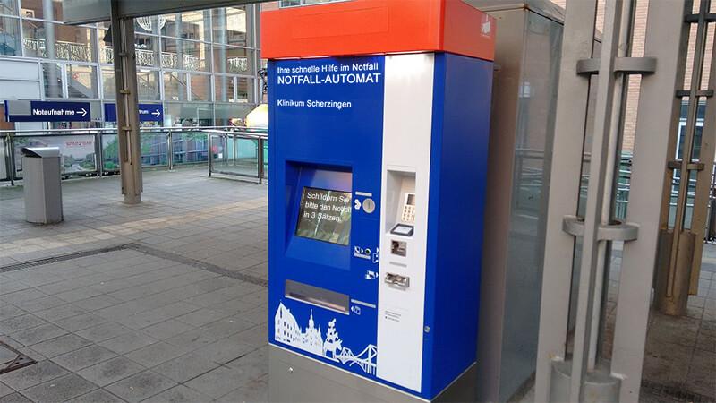 Notfall Automat Klinikum Scherzingen