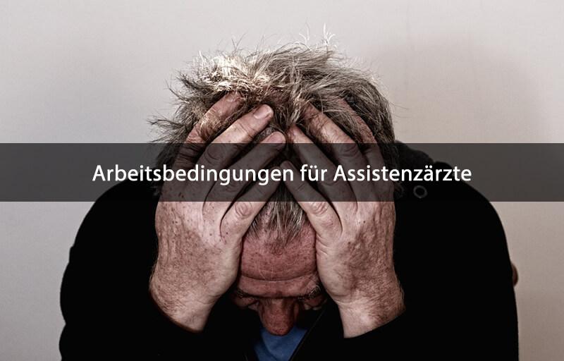 Hartmannbund Umfrage Assistenzärzte Arbeitsbedingungen