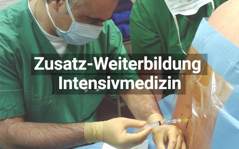 Zusatz Weiterbildung Intensivmedizin