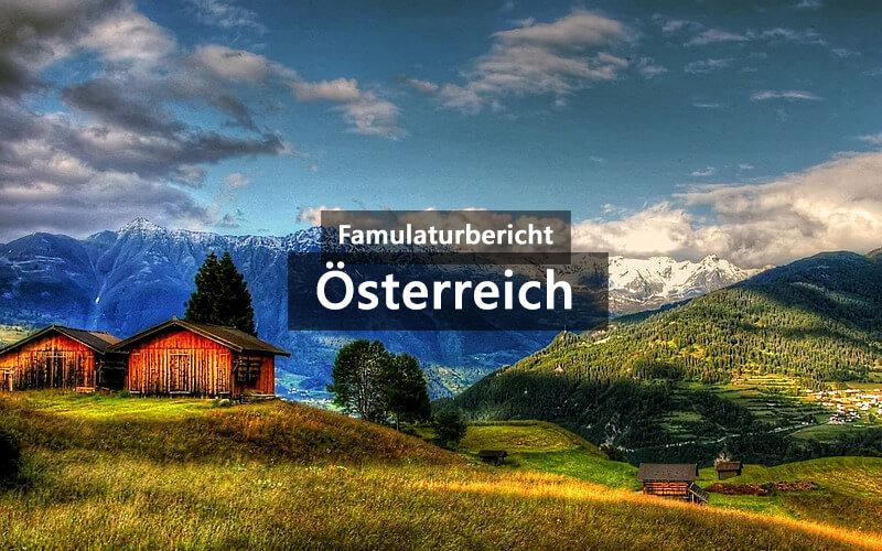 Famulaturbericht Österreich Vorarlberg