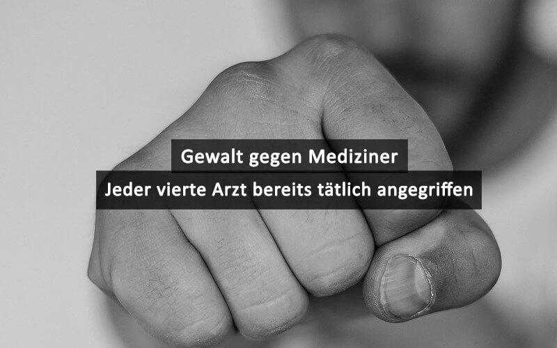 Gewalt Gegen Mediziner