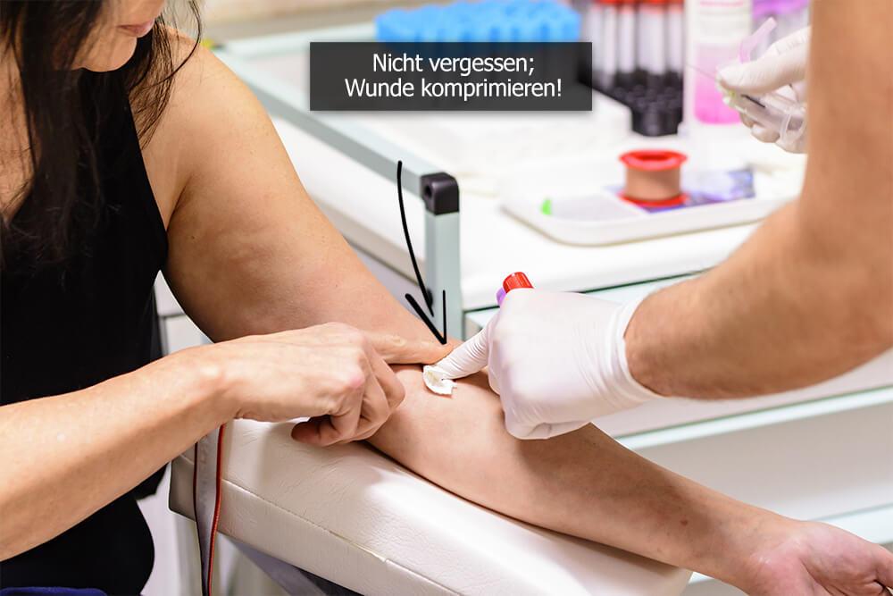 Blutabnahme - Anleitung inklusive hilfreicher Tipps fürs Blut abnehmen
