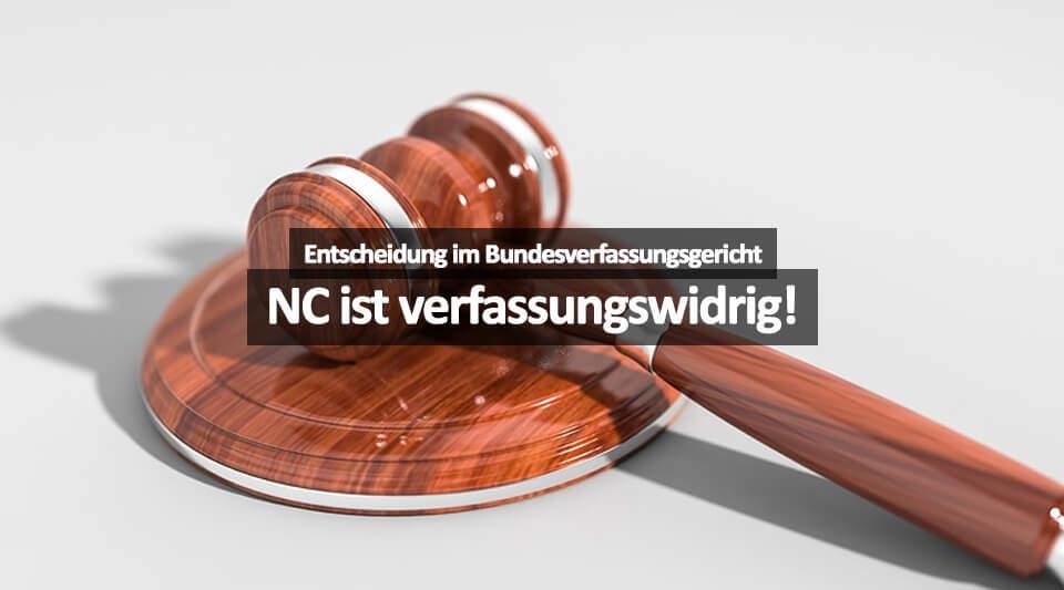 NC Ist Verfassungswidrig