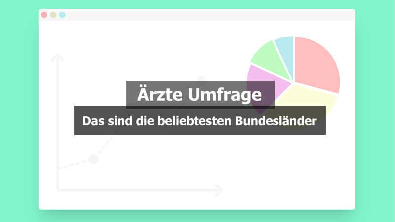 Ärzte Umfrage Bundesland