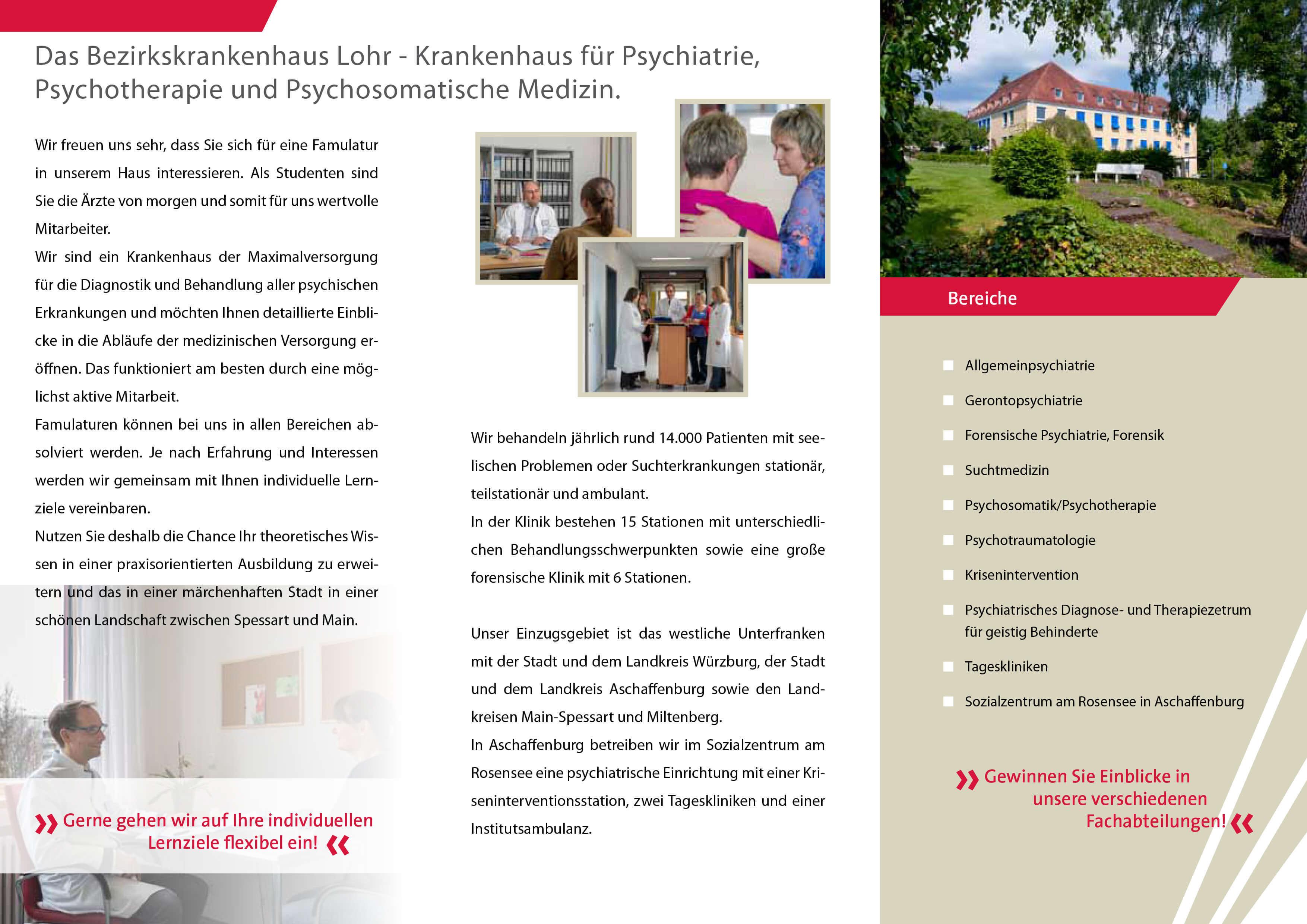 Famulatur Bezirkskrankenhaus Lohr Seite2