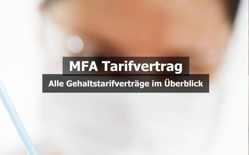 MFA Tarifvertrag