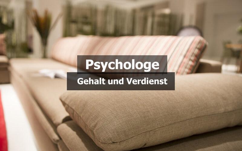 Psychologe Gehalt Verdienst
