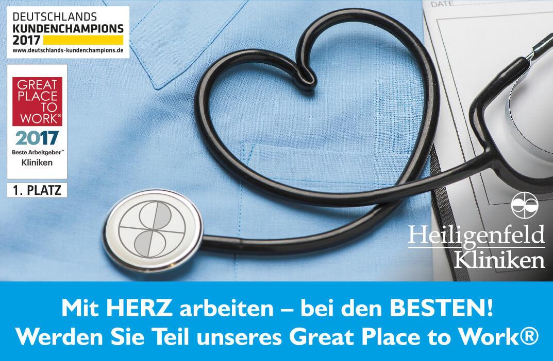 Stellenanzeige Heiligenfeld Kliniken