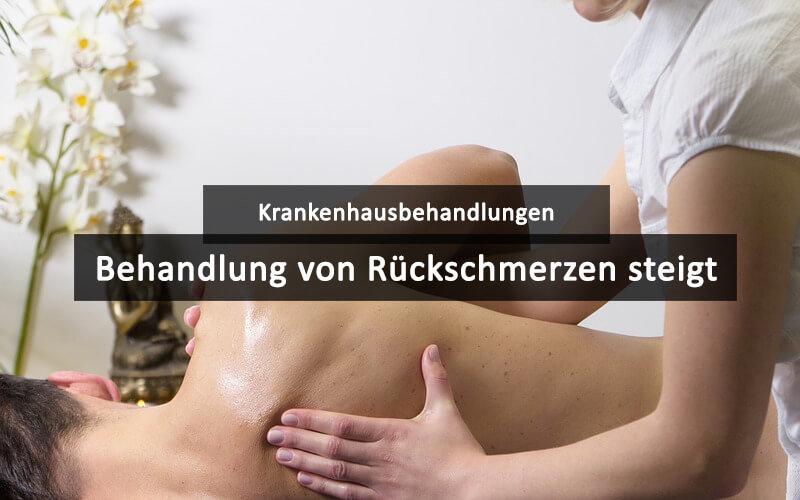Rückenschmerzen Krankenhausbehandlung
