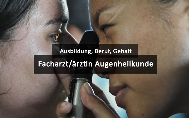 Augenarzt Facharzt Augenheilkunde