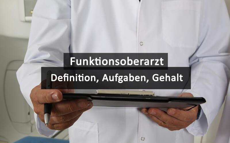 Funktionsoberarzt