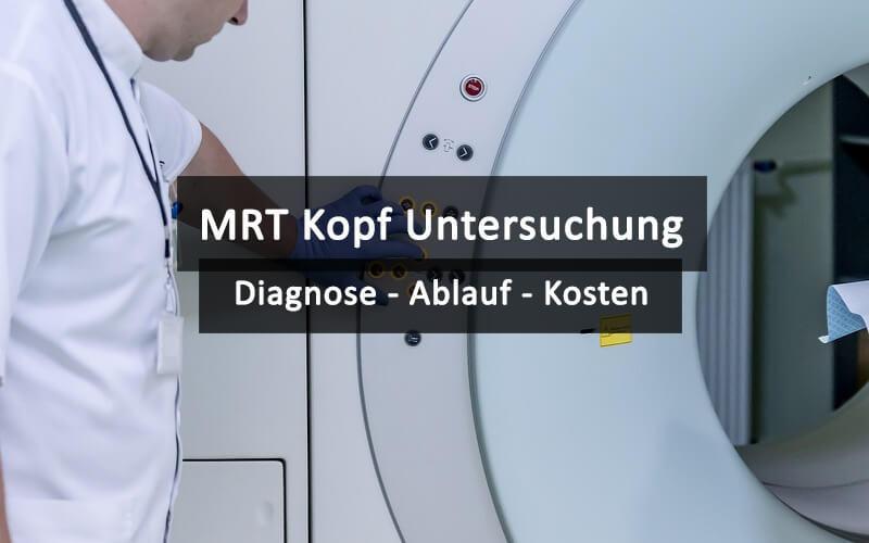 MRT Kopf Untersuchung