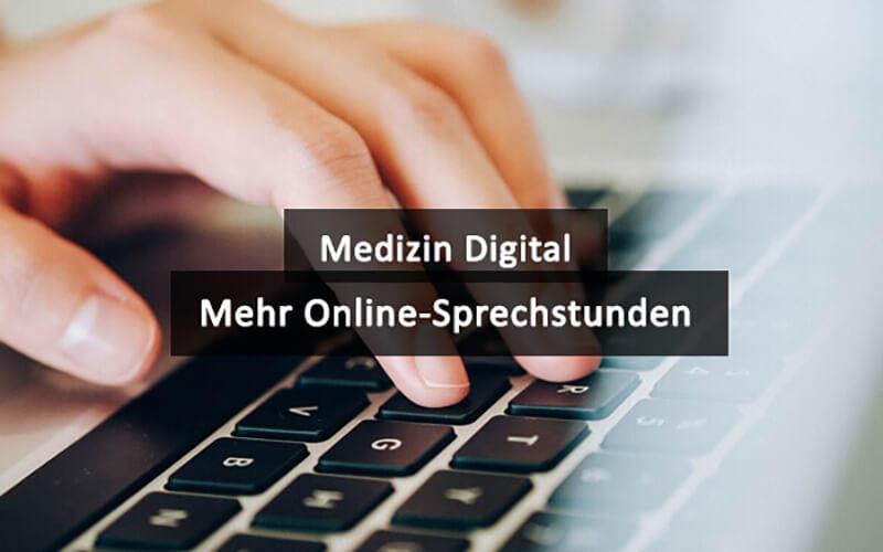 Mehr Online Sprechstunden