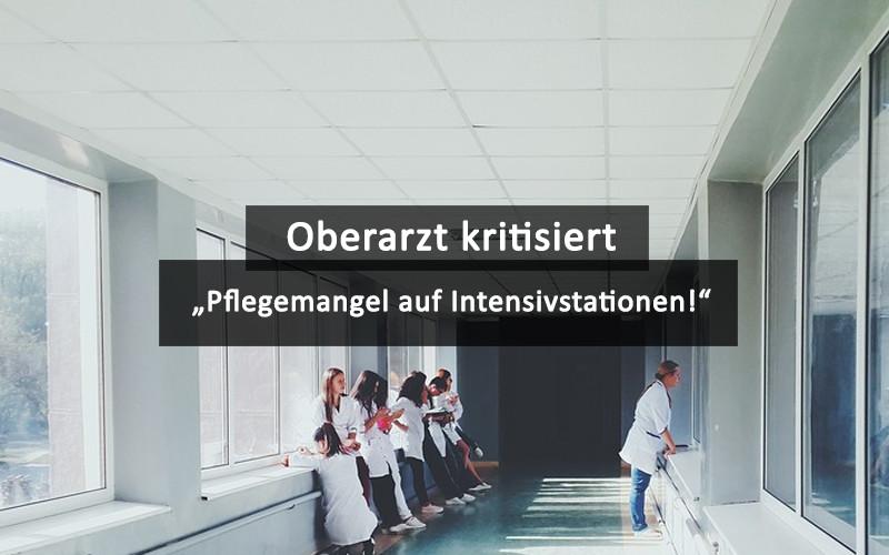 Oberarzt Kritisiert Pflegemangel