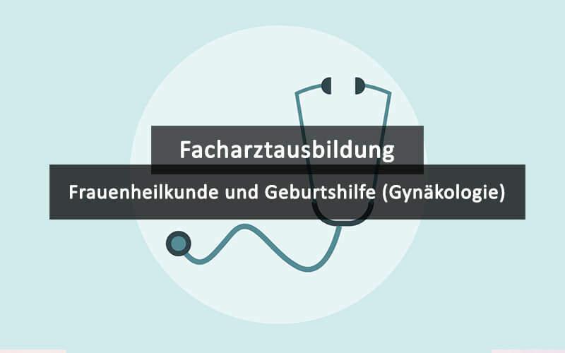 Facharztausbildung Weiterbildung Gynäkologie