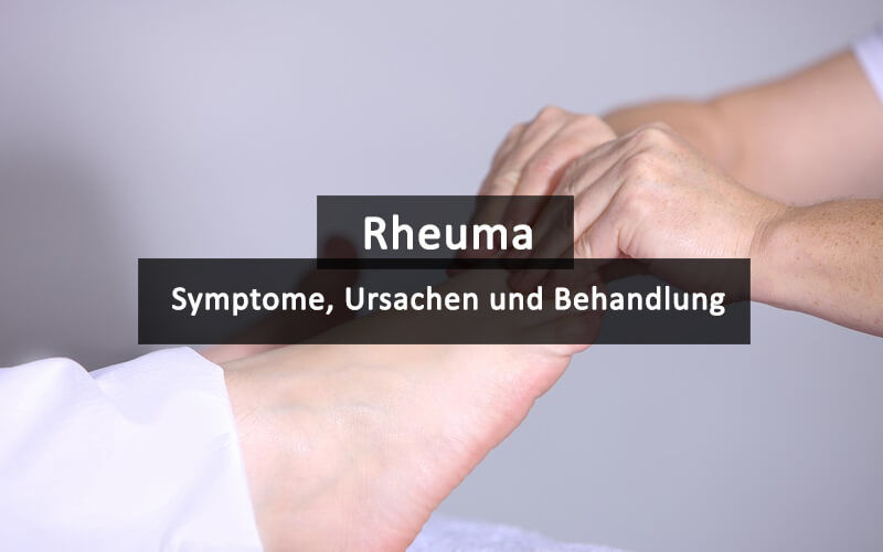 Rheuma Symptome Anzeichen