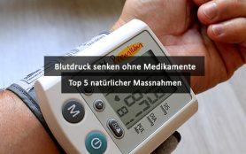 Blutdruck Senken Ohne Medikamente