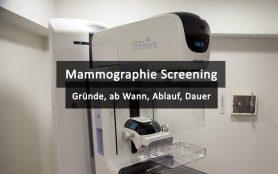 Mammographie Screening