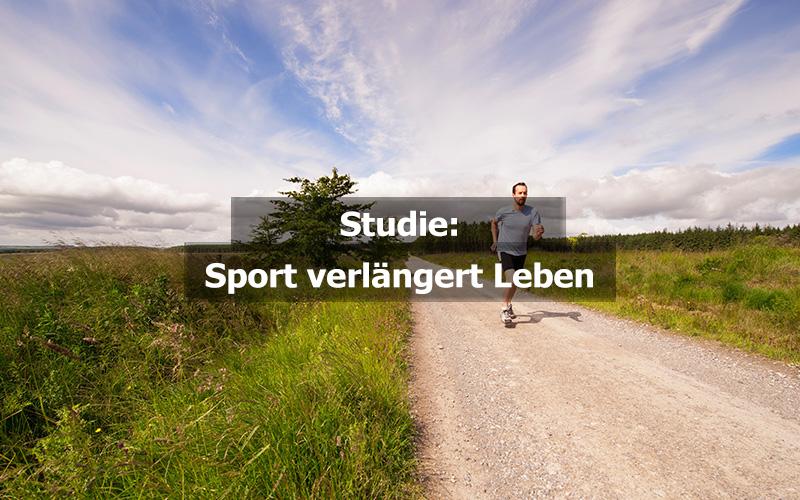 Sport Verlängert Leben