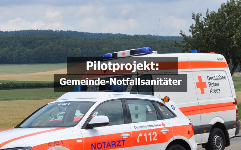 Gemeinde Notfallsanitäter