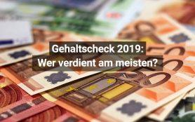 Gehaltscheck 2019