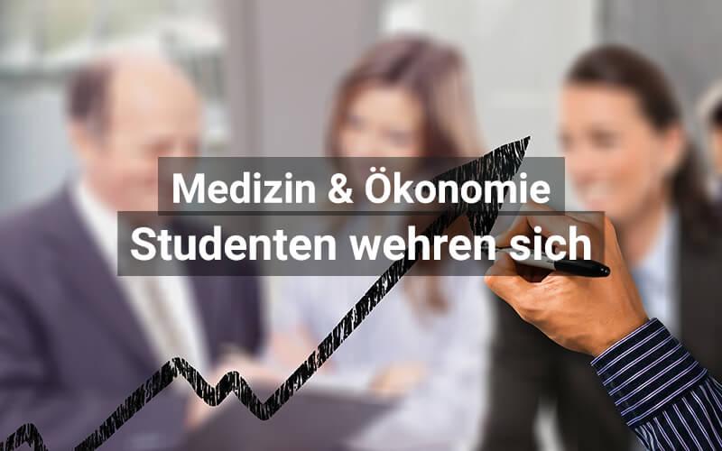 Medizinstudenten gegen Ökonomisierung