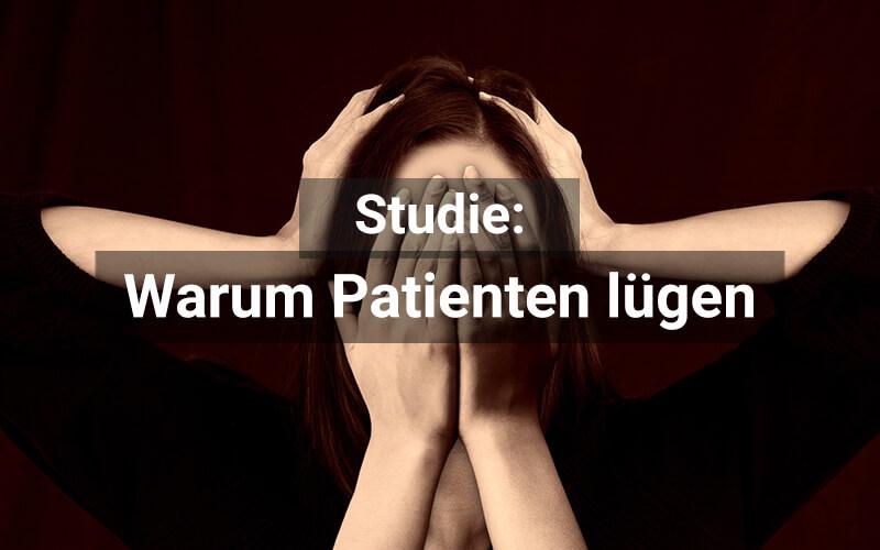 Patienten Lügen