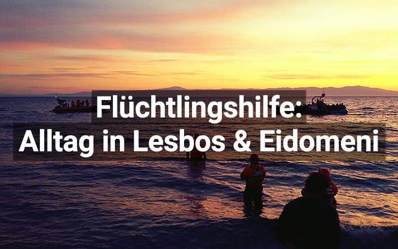 Alltag Lesbos Eidomeni