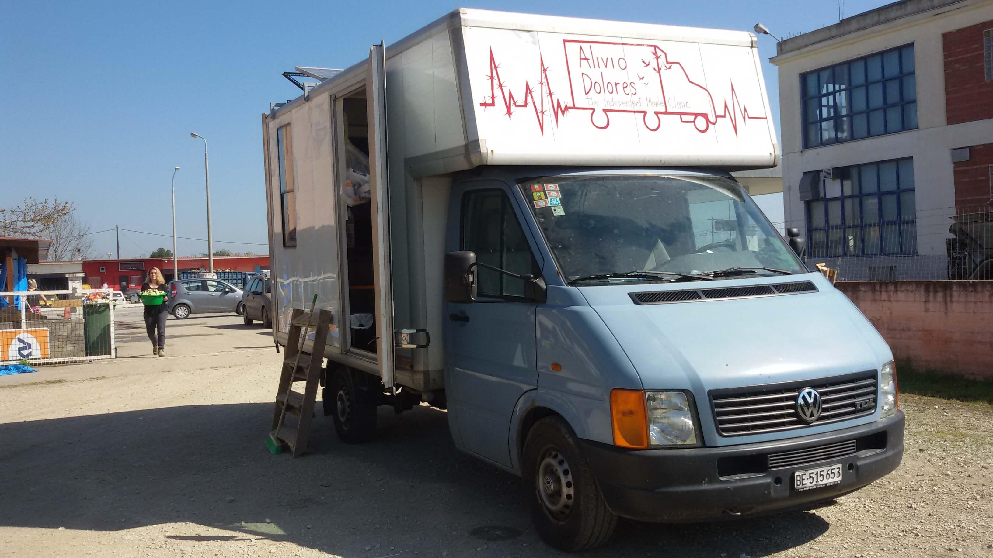 Mobile Klinik, Eidomeni
