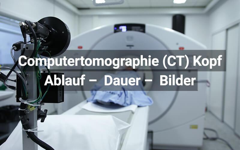 CT Kopf Schädel