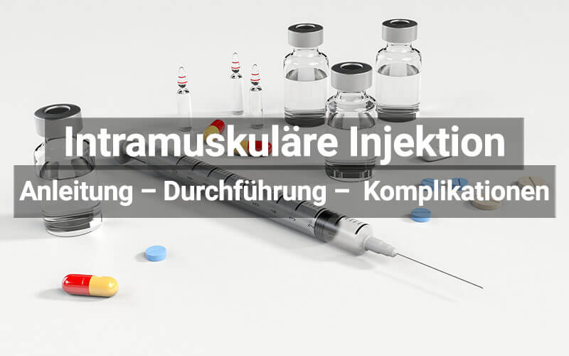 Intramuskuläre Injektion