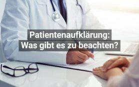 Tipps für Patientenaufklärung