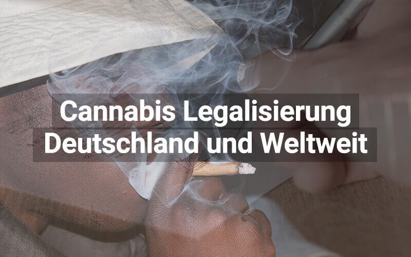Cannabis Legalisierung: Deutschland und weltweit
