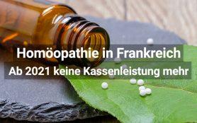 Homöopathie: Frankreich ab 2021 keine Kassenleistung mehr