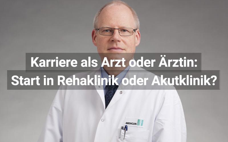 Karriere Reha Akut Klinik